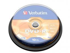 43523 SPINDLE 10 DVD-R 16X 120'VERB