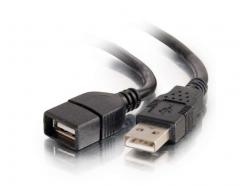 C2G 2m USB 2.0 A Male to A Female Extent