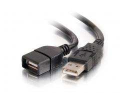 C2G 3m USB 2.0 A Male to A Female Extent