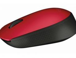 MOUSE LOG M171 OPTICAL USB RED LOGITECH