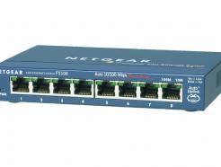 Switch Unmanaged 8 porte 100M ProSafe Sw