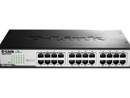 D-Link DGS 1024D - Switch - unmanaged -