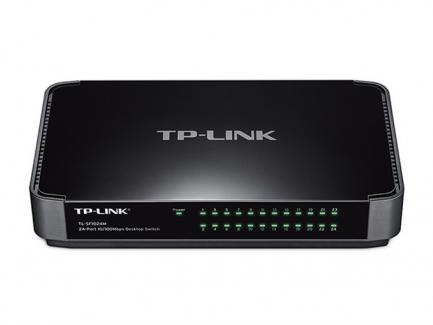 TP-LINK TL-SF1024M - Switch - 24 x 10/10